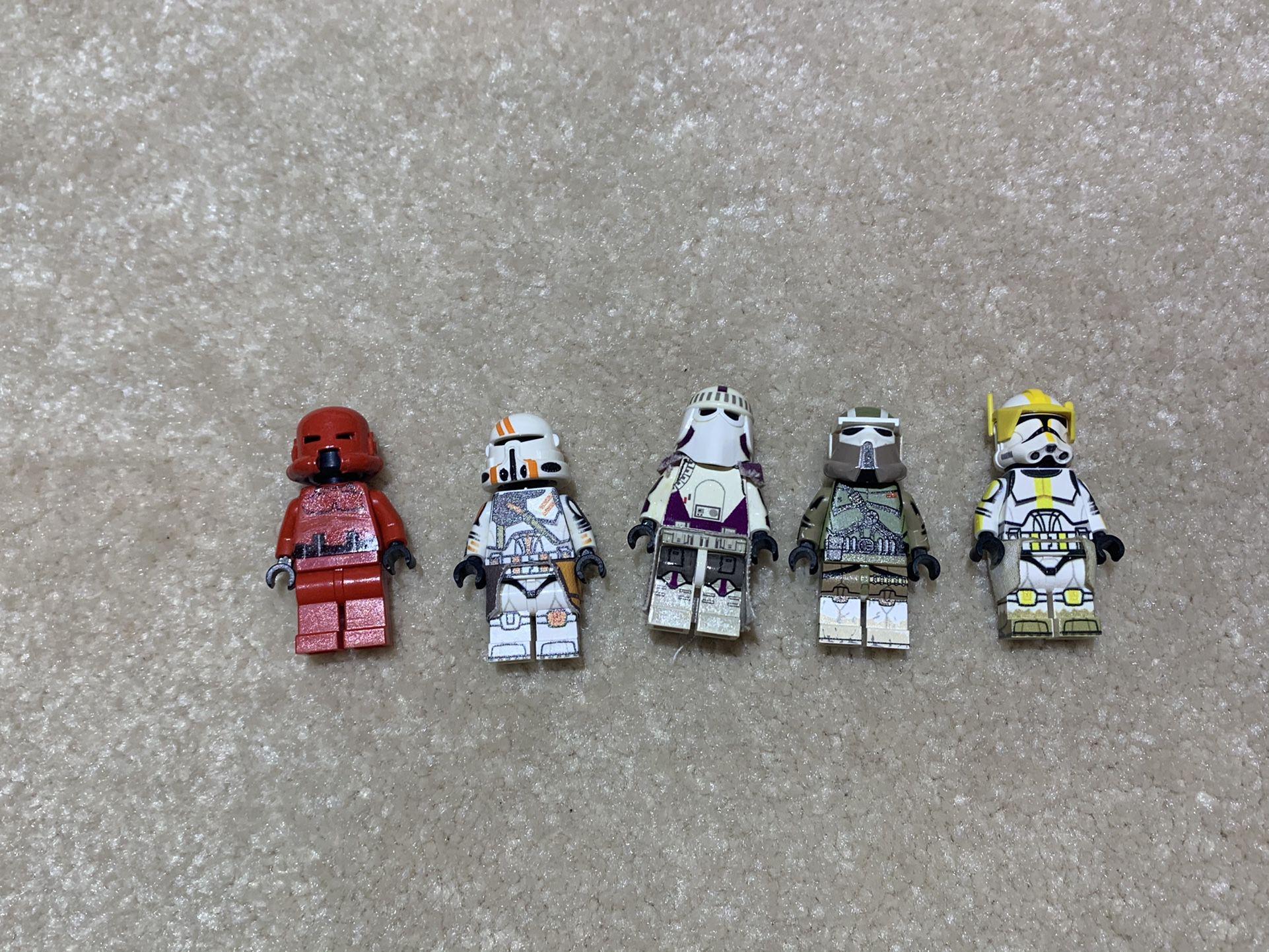 Custom Lego Clone Troopers