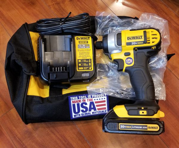 Dewalt Impact Driver With Battery And Charger Tools Machinery In San Jose Ca Offerup