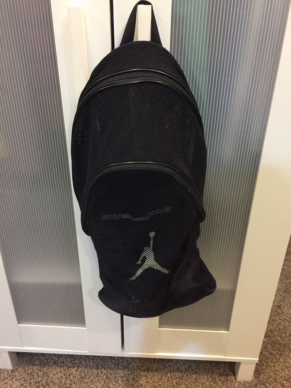 2cde74b7aab6 Air Jordan Mesh Backpack for Sale in Newport