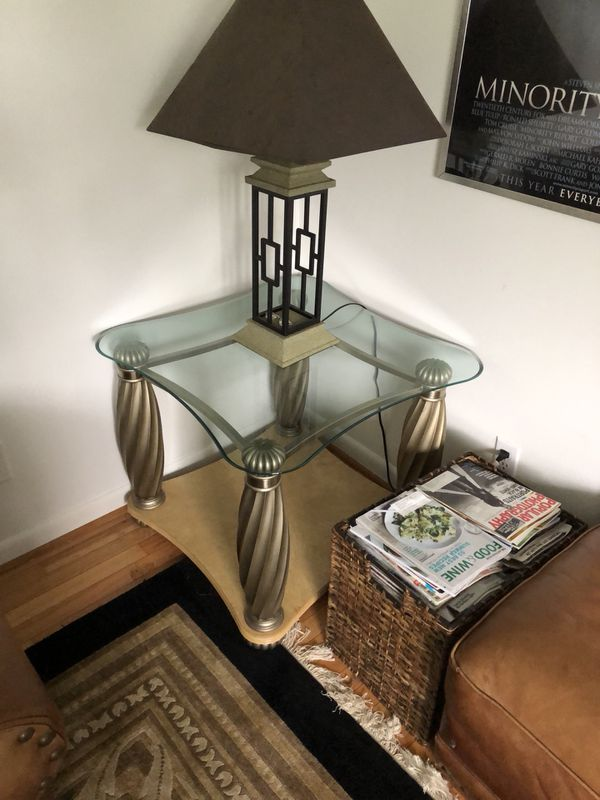 Coffee table lamp table oak and glass bernhardt these two coffee table lamp table oak and glass bernhardt these two tables are in excellent condition for sale in greensboro nc offerup aloadofball Gallery