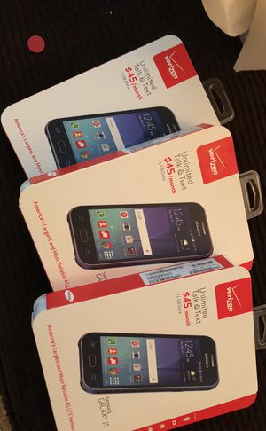 Brand new unopened Verizon Samsung J1 pre-paid cell phone for Sale in Addison, IL