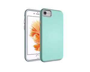 iPhone 7 Case Hybrid Shock Modern Slim Non-slip Grip Cell Phone Case for Apple iPhone 7 - Mint Green for Sale in San Francisco, CA