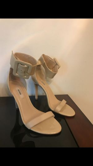 Guess nude heels size 8 for Sale in Lorton, VA