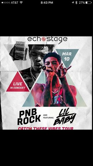 PNB Rock & Lil Baby live in Concert for Sale in Washington, DC