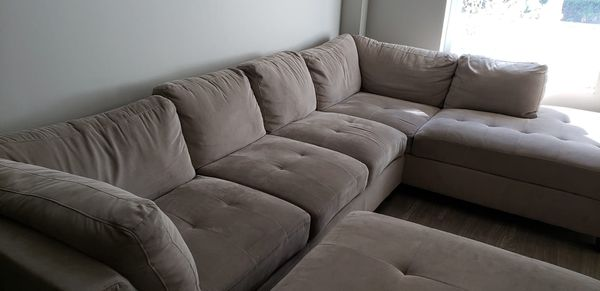 Free Beige Couch And Ottoman For Sale In Delray Beach Fl