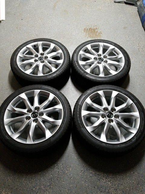 2014 2018 Mazda 3 Mazda 6 18 Oem Wheels And Tires For Sale In