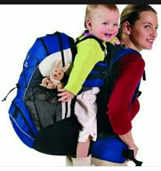 b506f5417a4 Deuter Kangakid backpack baby carrier for Sale in San Bruno