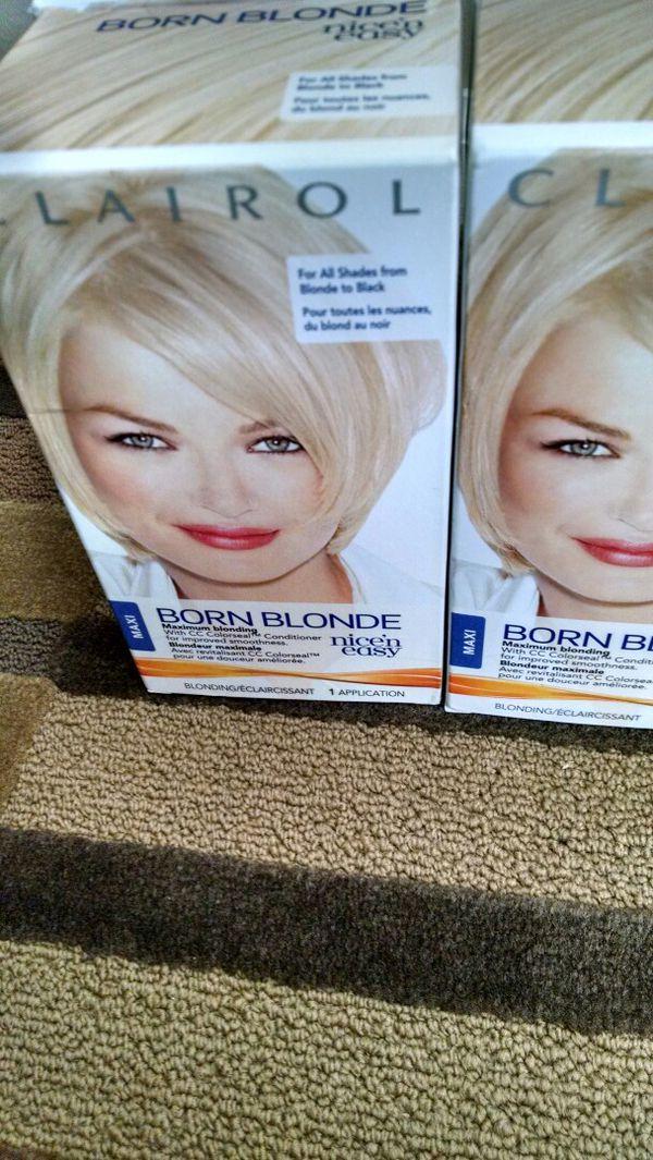 Born Blonde, Nice \'N Easy Hair Dye (Beauty & Health) in Raleigh, NC ...
