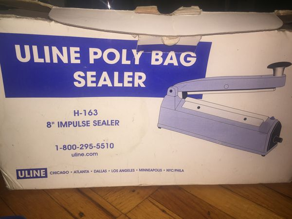ULINE POLY BAG SEALER for Sale in Braintree, MA - OfferUp