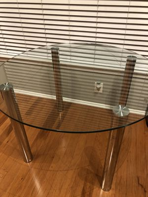 Glass Dining Table for Sale in North Bethesda, MD