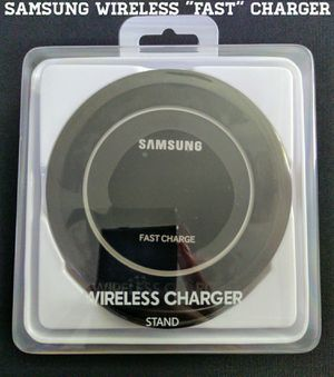"""Samsung """"Fast"""" Wireless Charger w/ Stand (New) for Sale in Arlington, VA"""