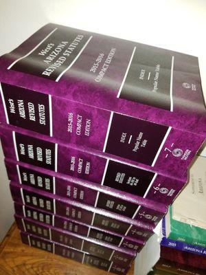 Law books $10 each for Sale in Glendale, AZ