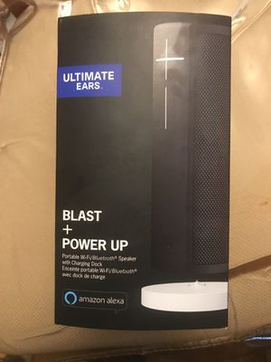Blast + Power Up Wi-Fi Speaker & Charging Dock $259 for Sale in Oxon Hill, MD