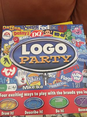 Logo Party Board Game for Sale in Centreville, VA