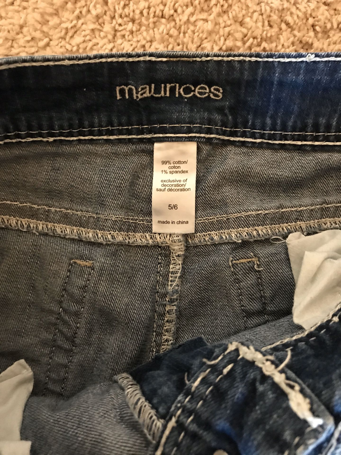Maurice's women's jeans size 5/6
