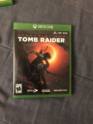Still like new tomb raider for Xbox one for Sale in Temple Hills, MD