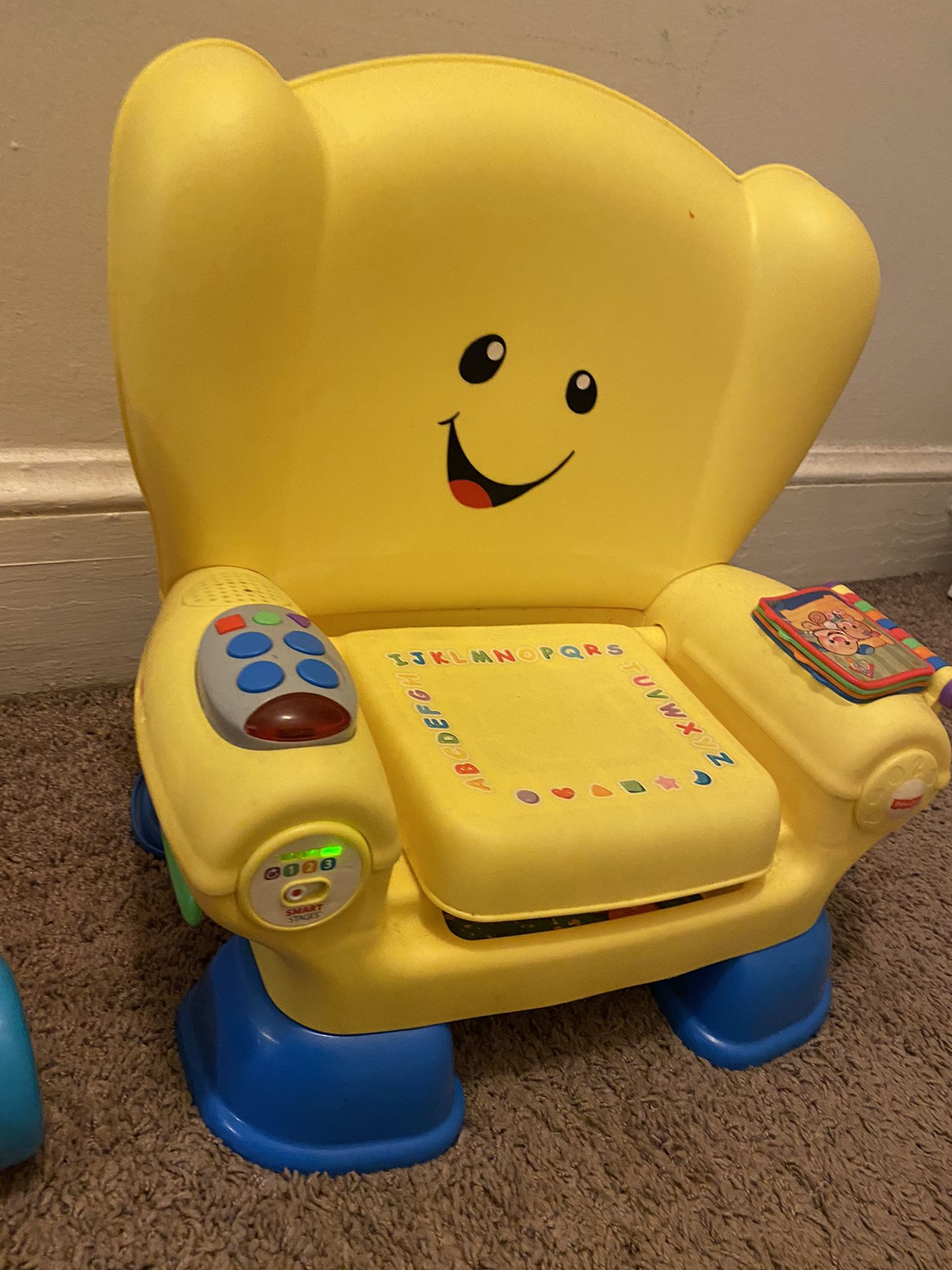 Childrens Toy and Chair