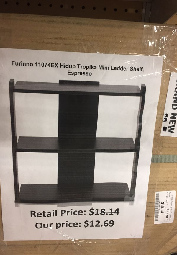 Furinno Hidup Tropika Mini Ladder Shelf For Sale In San Leandro Ca Offerup