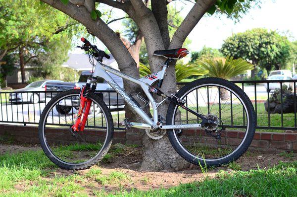 Specialized stumpjumper xc fsr full suspension mountain bike for Sale in  Claremont, CA - OfferUp