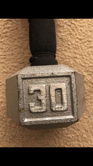 30 pound dumbbell for Sale in Fairfax, VA