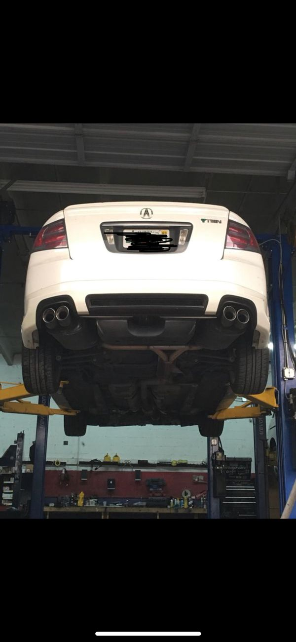 Acura Tl Type S Oem Dual Tip Exhaust Straight Pipe 2004 2008 For Sale In Hollywood Fl Offerup