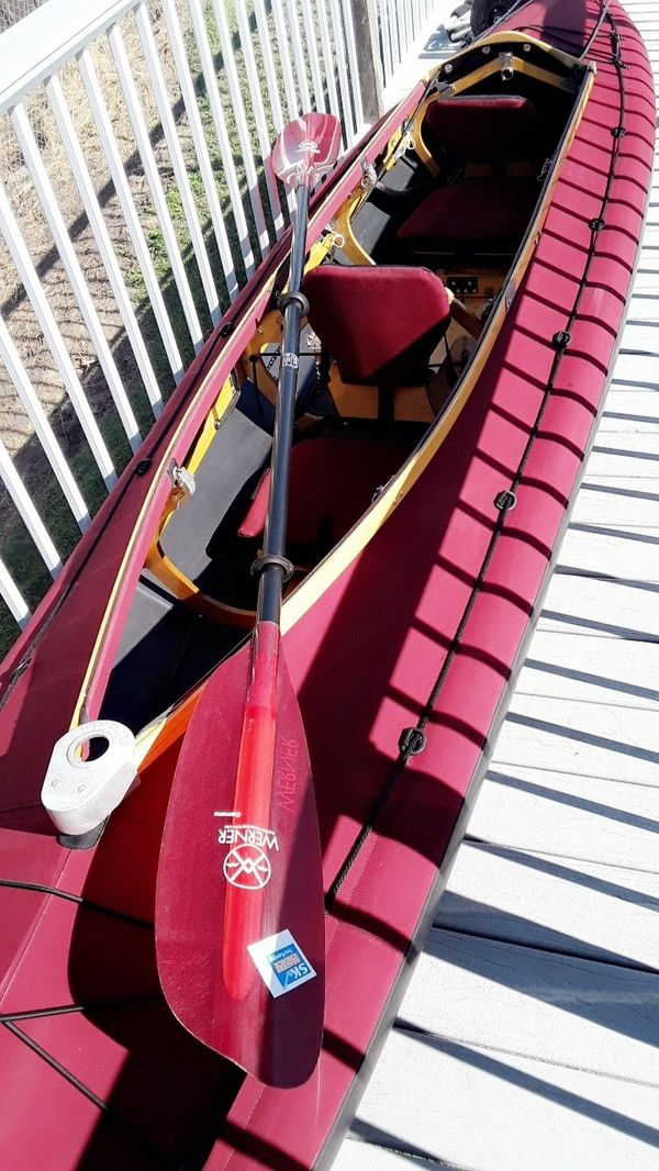 Eckhart's long haul folding kayak for Sale in US - OfferUp