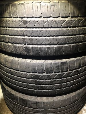 3 good use tires Goodyear 245/65/17 for Sale in Herndon, VA