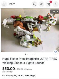 Imaginext Ultra T-Rex Thumbnail