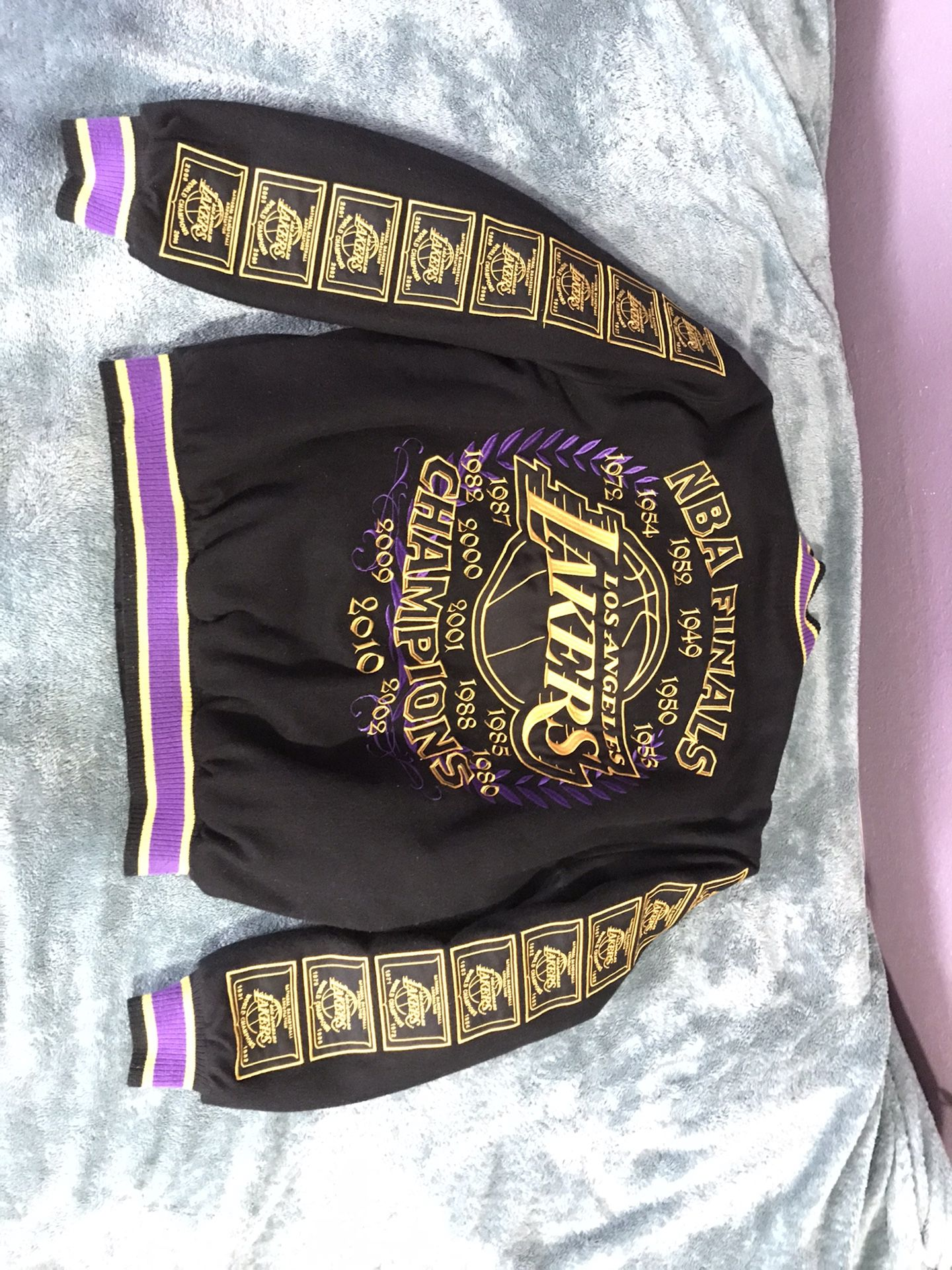 Reversible Lakers Jacket