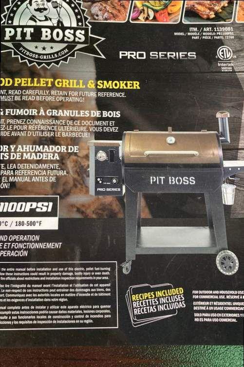 Pit boss electric pellet smoker #PB1100PS1 pro series W