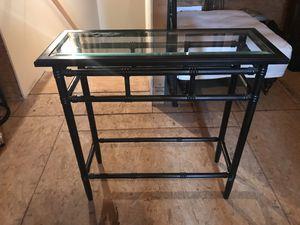 Glass Console Table for Sale in Charlottesville, VA