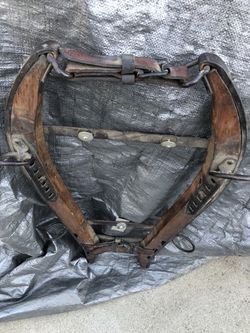 Collectible horse or mule collar Thumbnail