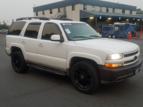 2002 Chevy Tahoe Z71 4x4 Nice Chevrolet For Sale In Tigard Or Offerup