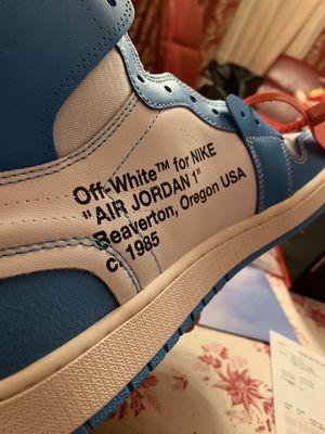 Air Jordan 1 x Off White UNC for Sale in Detroit, MI
