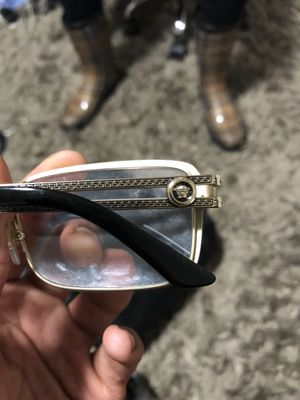 8e06ebeb82 Versace Frames VE1236 Black and Gold for Sale in Silver Spring