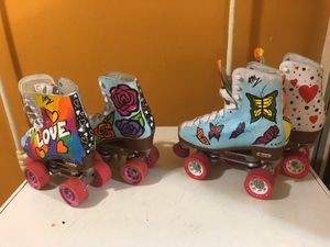 Roller Skates(LOVE kids 5,BUTTERFLIES women 7) for Sale in Arlington, VA