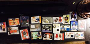 Relic/Auto Football & Basketball Cards (21 cards) for Sale in Scottsdale, AZ