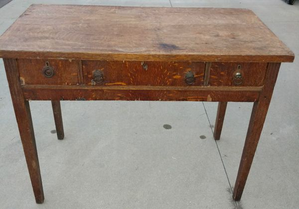 - Antique Table Desk For Sale In Uniontown, OH - OfferUp