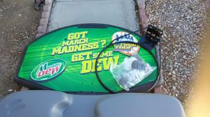 Mt Dew march madness basketball hoop for Sale in Henderson, NV