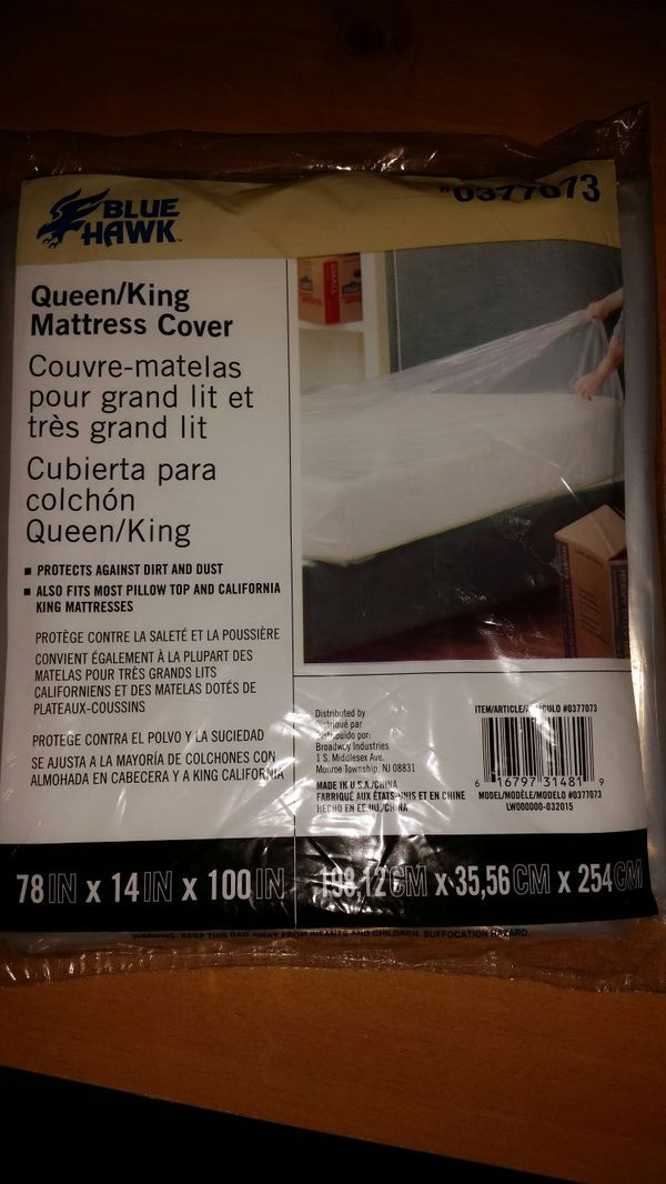 Blue Hawk Queen King Mattress Cover For Sale In Charlotte Nc Offerup