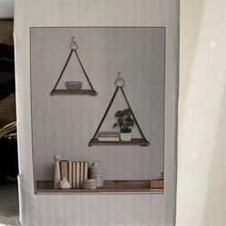 Decorative Hanging Wall Shelves  Thumbnail