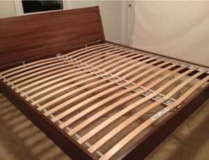 King Size IKEA Bed 100 OBO for Sale in Washington, DC
