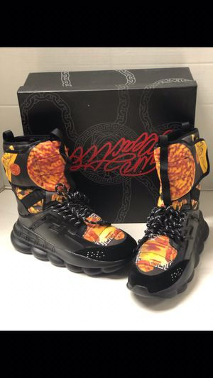 Versace chain reaction boots for Sale in Washington, DC
