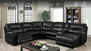 Photo Furniture sectional leather Finance available for down payment $291456 North Beltline Road Garland Texas 75044