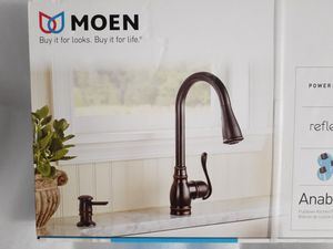 Photo MOEN Kitchen Faucet Complete Install Kit *New*