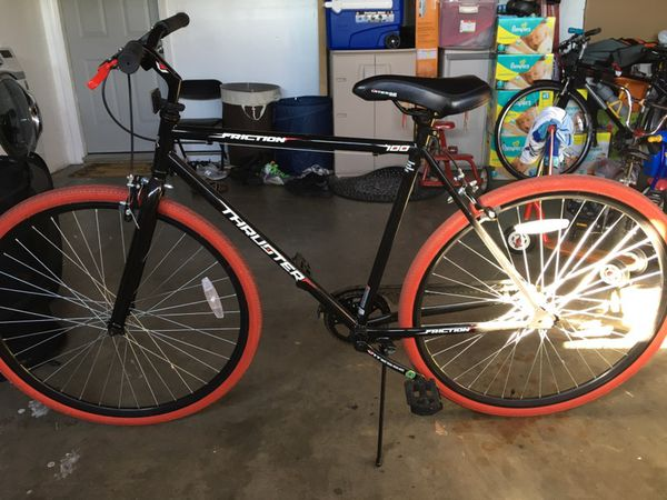 73a33d6be2e Vitesse thruster 700c fixie/single speed black/red bike for Sale in  Alameda, CA - OfferUp