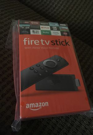 Amazon fire TV stick with Alexa voice remote for Sale in Herndon, VA
