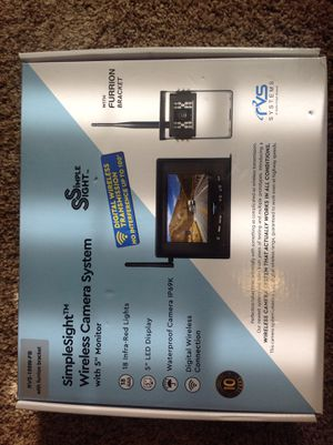 Wireless backup Camera.. Top of the list line. Simple Sight . for Sale in Buford, GA