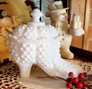 Fenton glass shoe for Sale in Manassas, VA