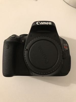 Canon Rebel T3i Camera with lens and printer for Sale in Annandale, VA